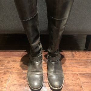 Leather Frye Knee High Boots